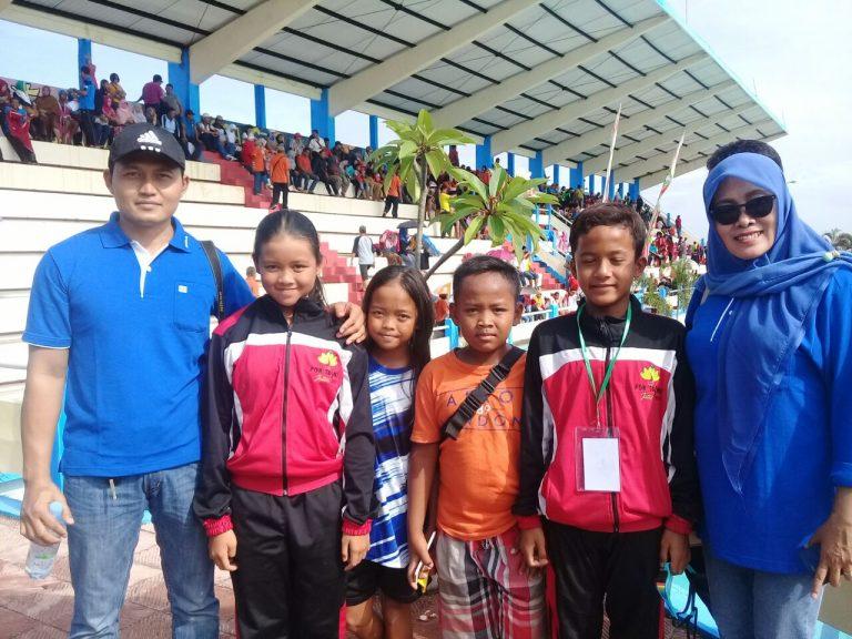Sabet Medali Perunggu Dalam Renang Por Prov SD di Lumajang