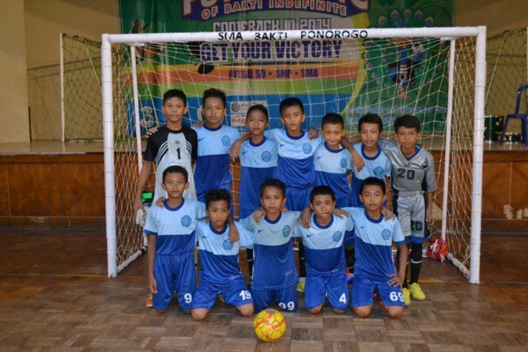 Team Futsal SD Muh Ponorogo
