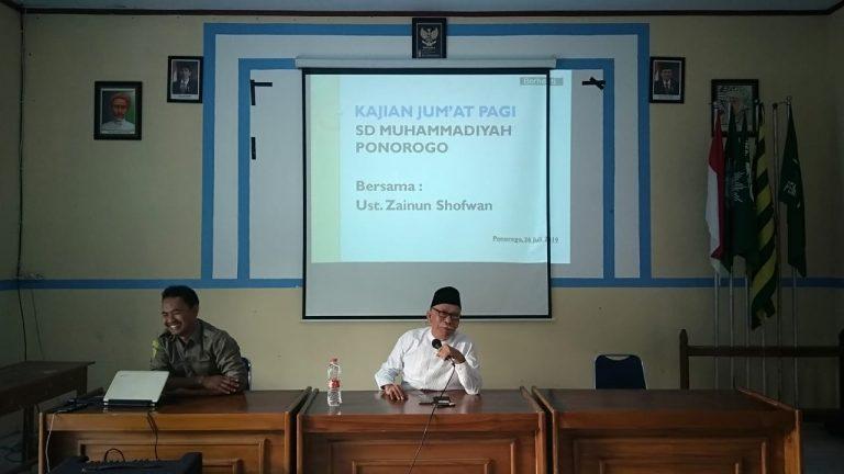 Kajian Rutin Guru dan Karyawan SD Muhammadiyah Ponorogo
