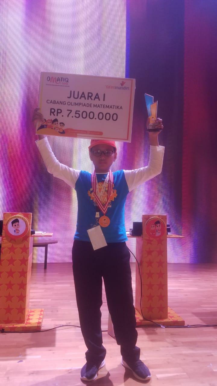 Juara 1 Lomab OMATIQ Tingkat Nasional Tahun 2019