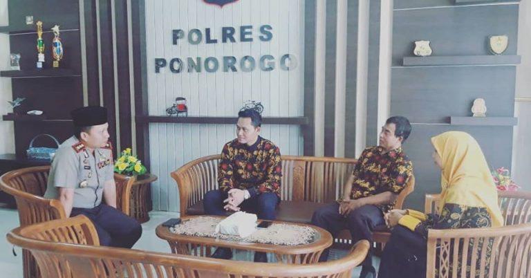 Menjalin Silaturrahim Dengan Bapak Kaplores Ponorogo