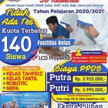Mari Bergabung Dengan SD Muhammadiyah Ponorogo Tahun Pelajaran 2021/2022